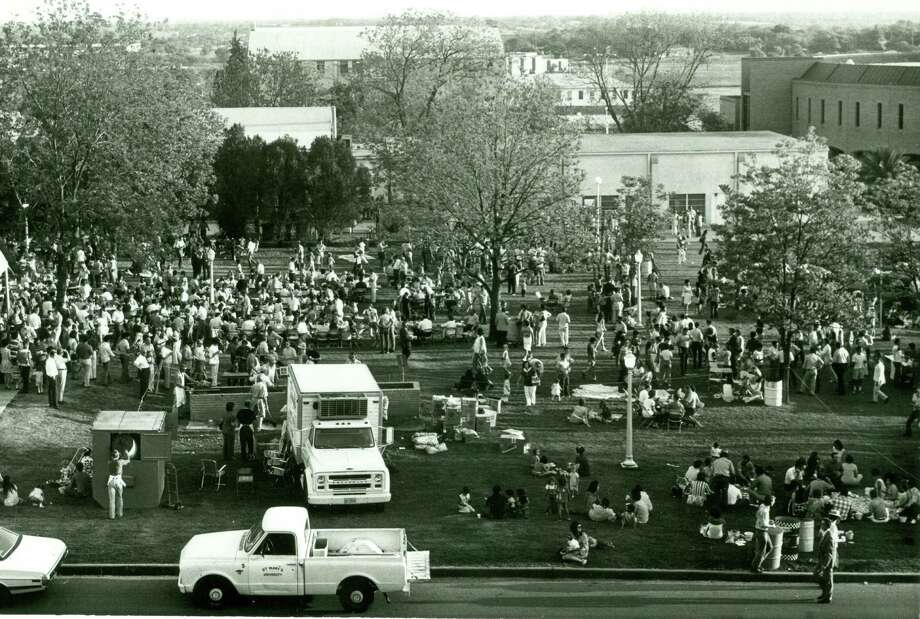 Fiesta Oyster Bake is 103 years old The event started in 1916, meaning it's been around for a third of San Antonio's history.  Photo: Courtesy, St. Mary's University