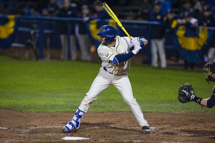 Cal catcher Brett Cumberland is hitting .391 with eight home runs this season.