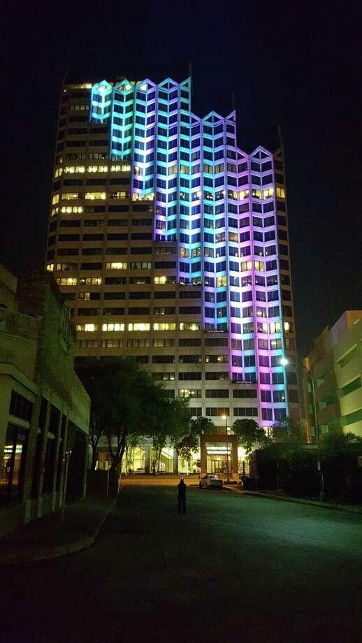 San Antonio Artist S Kinetic Skyline