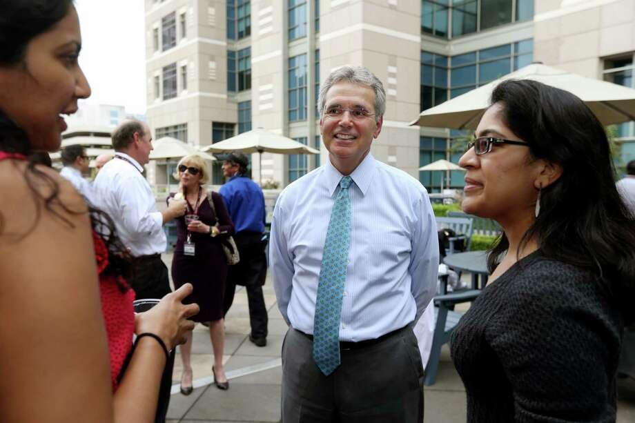 Dr. Ron DePinho, president of M.D. Anderson Cancer Center. Photo: Gary Coronado, Staff / © 2015 Houston Chronicle