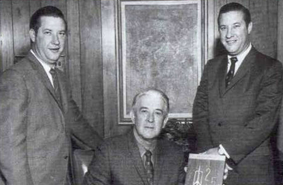 First- and second-generation Cavenders (left to right) include Billy, founder James Jr. and Jimmy III. Billy and Jimmy were twins. Photo: /COURTESY PHOTO