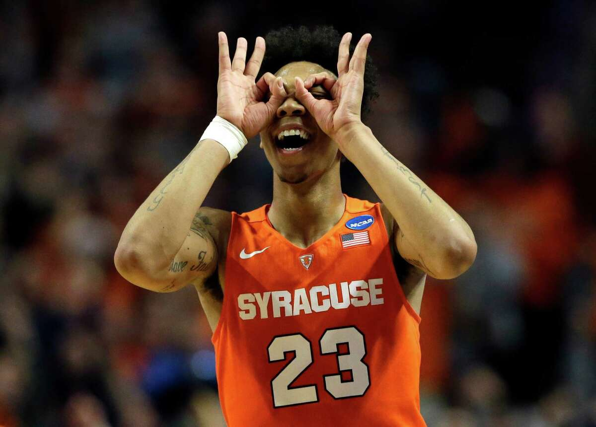 Malachi Richardson, Syracuse Richardson is only a freshman, but there's some talk of him leaving early. Some early mock drafts have the 6-foot-6 shooting guard projected as a top 20 pick if he were to come out this season. Of course, he could stay and move himself into the lottery in future drafts.