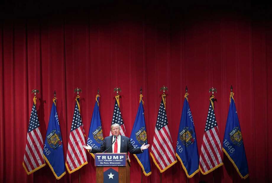 Trump had dodged similar questions in the past. In January, days before the caucuses in Iowa, he sidestepped a question about the penalties he thought were appropriate for the providers of abortions or for the women who received them. Photo: Scott Olson, Staff / 2016 Getty Images