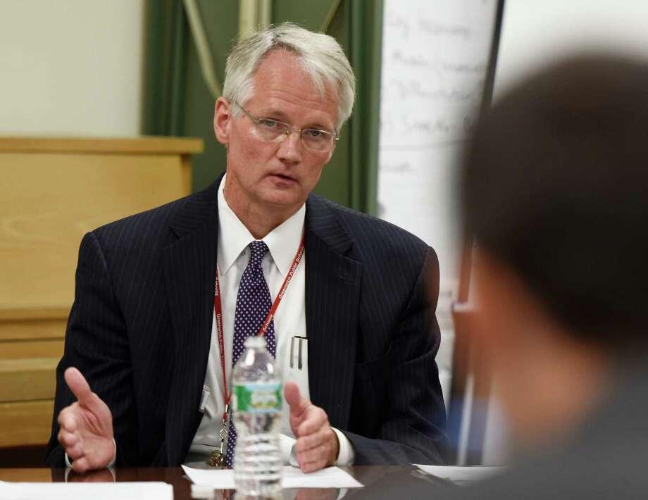 Greenwich Superintendent of Schools William McKersie Photo: Tyler Sizemore / Hearst Connecticut Media File Photo / Greenwich Time