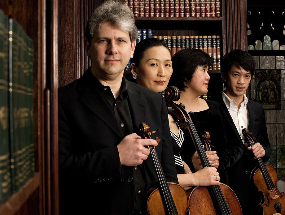 The Borromeo String Quartet will perform April 9 at a Music for Youth concert. Photo: Contributed / Contributed Photo / Fairfield Citizen