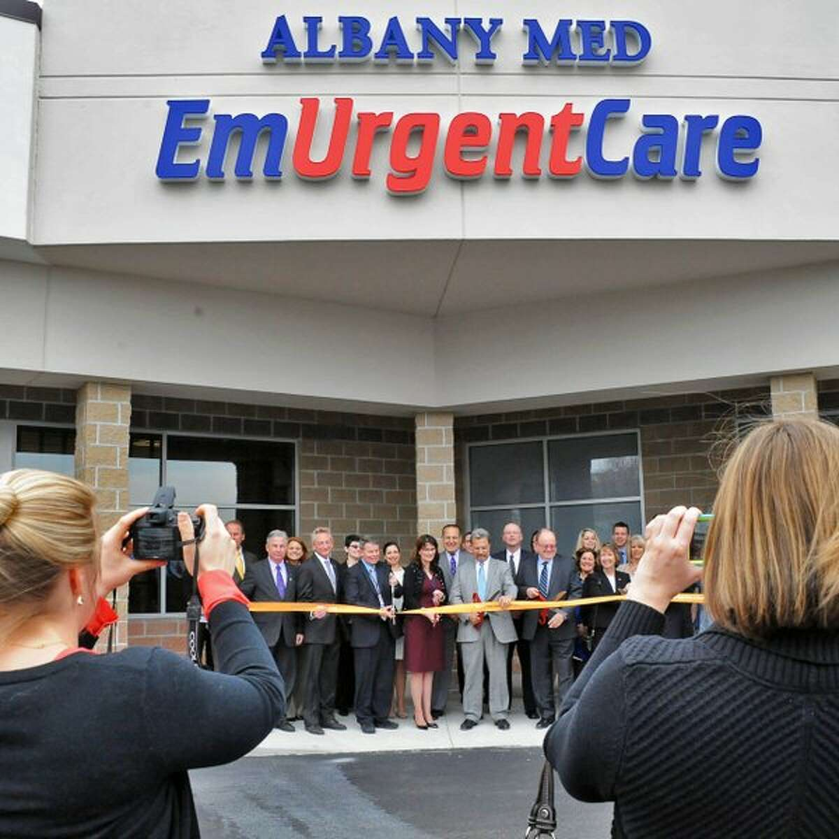 Albany Med's new EmUrgentCare facility readies to open March 31, 2016, in Brunswick, NY. (John Carl D'Annibale/Times Union)