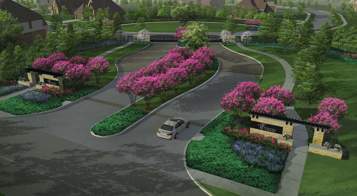 The Estates at Cane Island is a gated area of the Katy community planned for 22 homes on half-acre lots.
