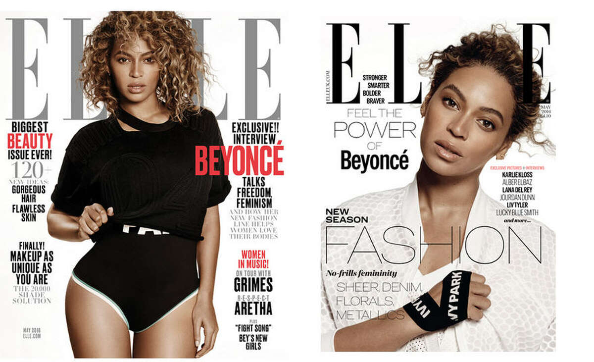 Beyonce will be on the May issue of Elle magazine, but you can take a sneak peek at it now. Keep clicking to see what we found out in Queen B's interview.