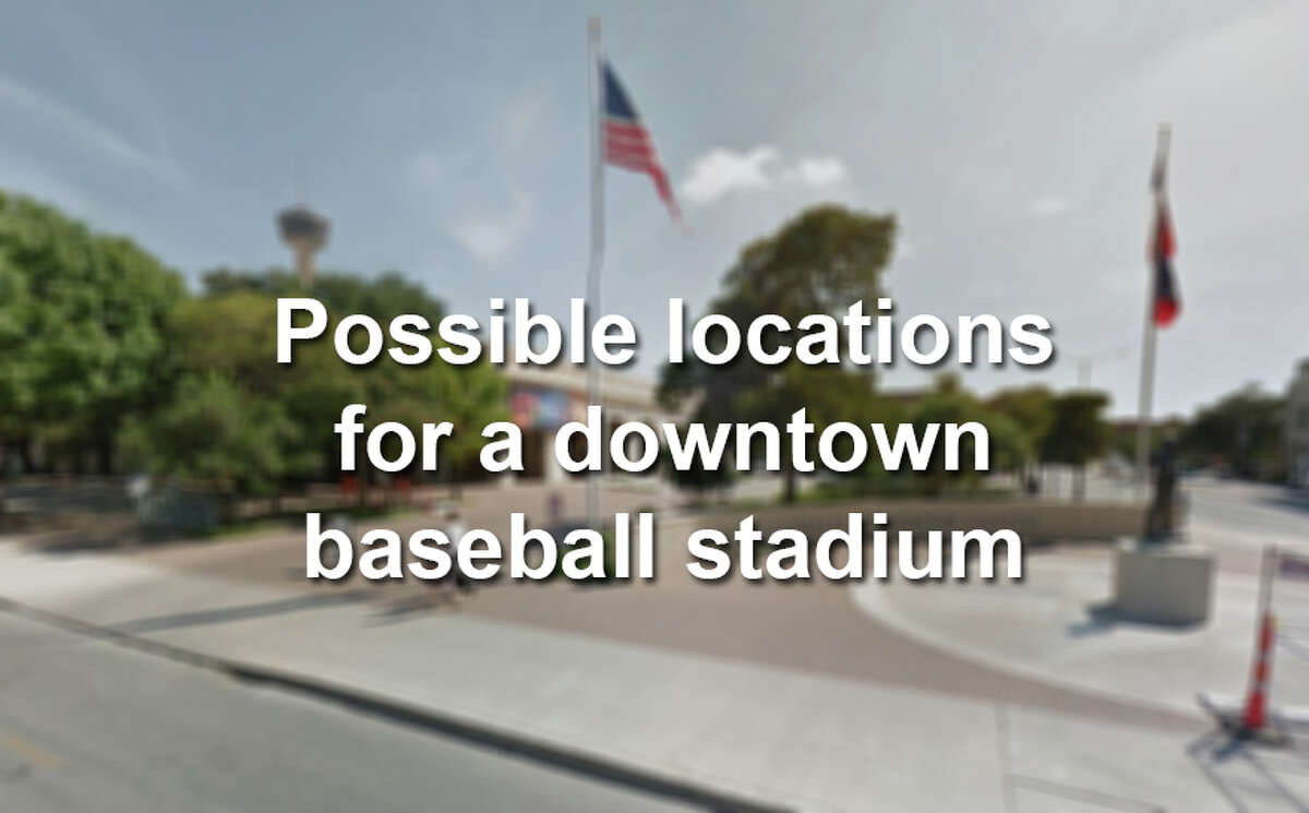 Click ahead to see the seven places where San Antonio could build a new baseball stadium as identified in a city-funded sports study.