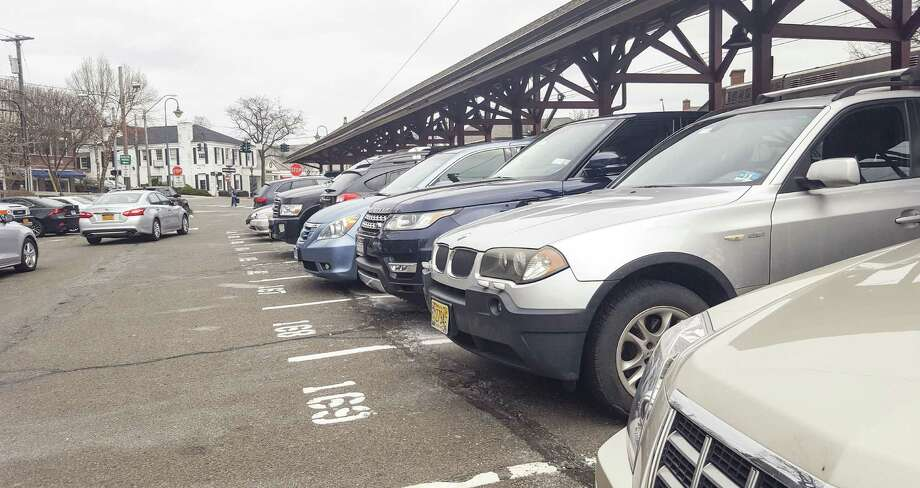 Parking fees at commuter lots are going up in New Canaan. Photo: Thane Grauel / Hearst Connecticut Media / New Canaan News