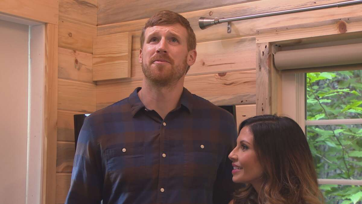 """Matt Bonner's tiny home built and featured by """"Tiny House Nation"""" on FYI."""
