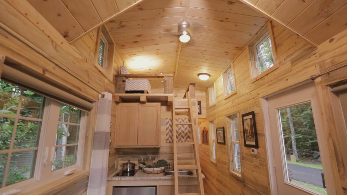 Matt Bonner's tiny home built and featured by