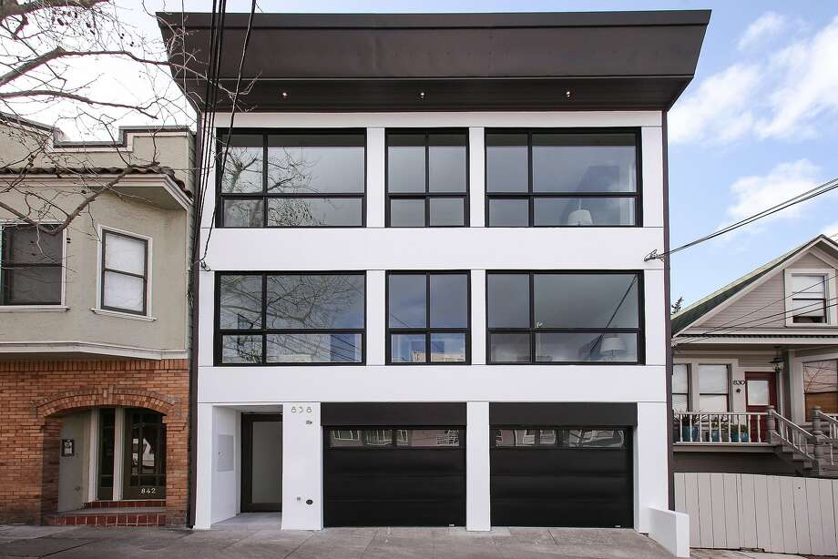 838 Rhode Island St. is a three-bedroom contemporary in Potrero Hill listed at $3.8 million.