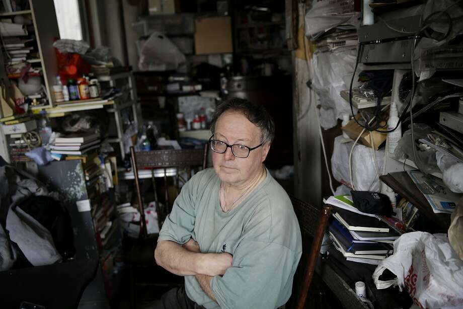 Adam Chrin faced eviction before social workers helped him avoid eviction and keep his apartment. Photo: Seth Wenig, AP