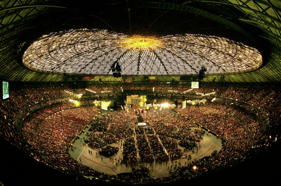 On April 1, 2001 the Astrodome hosted World Wrestling Entertainment's WrestleMania X-Seven before 67, 925 screaming and cheering fans.The WWE (then known as the World Wrestling Federation) was at a pop-culture zenith, with its wrestlers and personalities all over magazines and television.