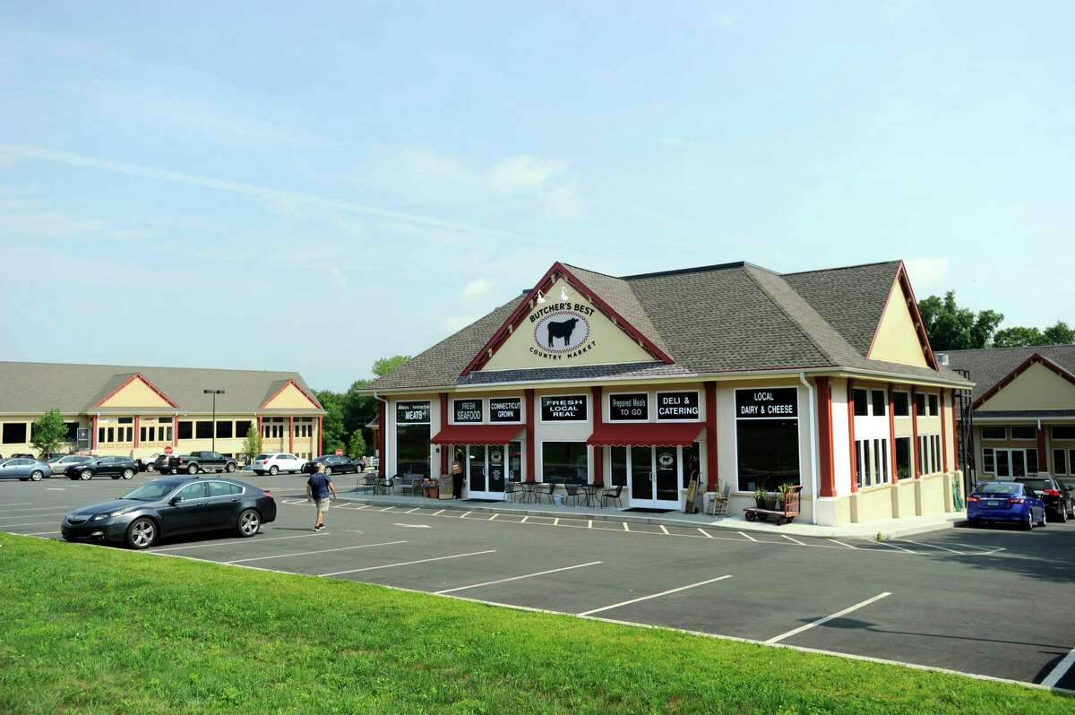 Butcher's Best Country Kitchen is one of the businesses at Highland Plaza on South Main Street in Newtown. The property recently sold for $3.75 million.