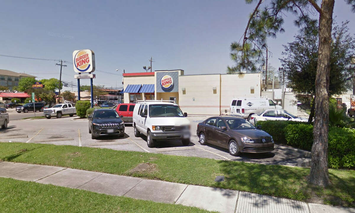 One man was reportedly shot multiple times in this Burger King parking lot in the 5100 block of Kirby, in Houston, at mid-day Thursday, March 31, 2016. (Google Maps)