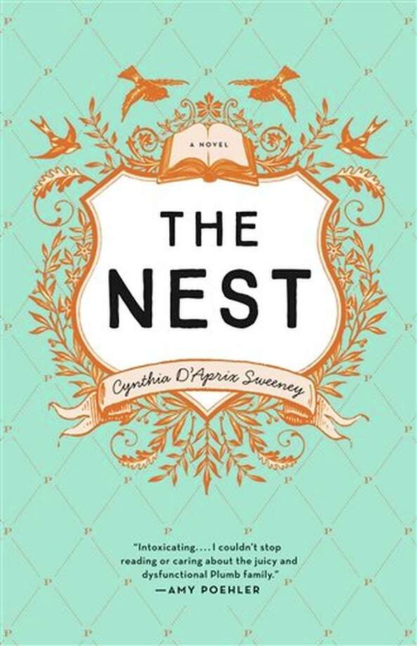 "This book cover image released by Ecco shows ""The Nest,"" a book by Cynthia d'Aprix Sweeney, about four adult siblings whose inheritance is in jeopardy. (Ecco via AP) Photo: AP / Ecco"