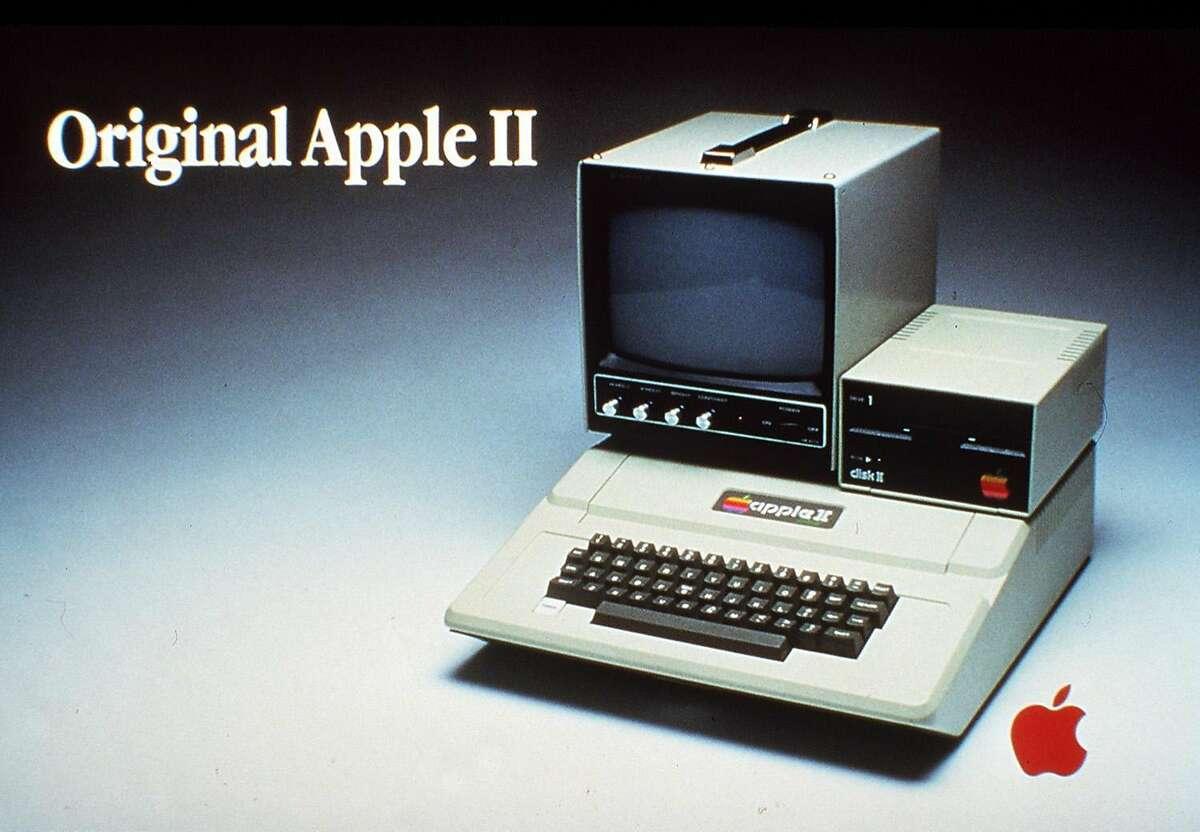 1977: Apple II ($1,298) goes on sale.