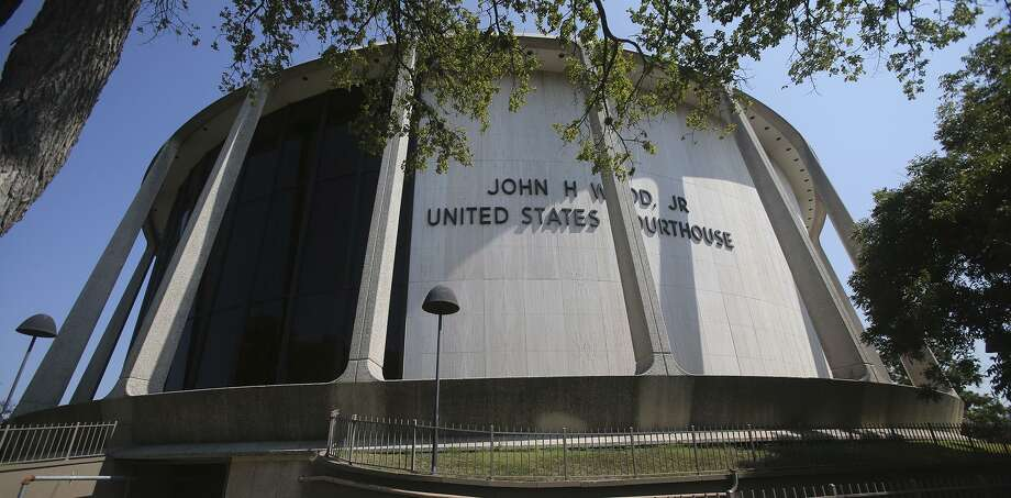 The John H. Wood, Jr. Federal Courthouse , where an Army soldier, Spc. James Frank Johannes, 34, was sentenced Tuesday for secretly videotaping teen sisters and for possession of child porn. Photo: John Davenport /San Antonio Express-News / ©San Antonio Express-News