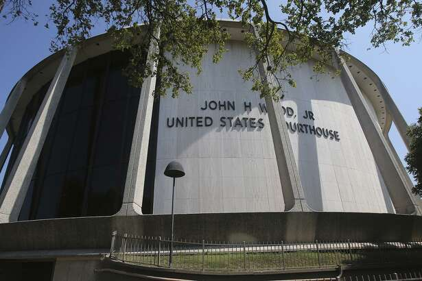 The John H. Wood, Jr. Federal Courthouse in San Antonio, where Leandro Cardenas Luna admitted he filed a fake bankruptcy case falsely claiming a judge who sentenced him in 2006 owed him more than $5.8 million.