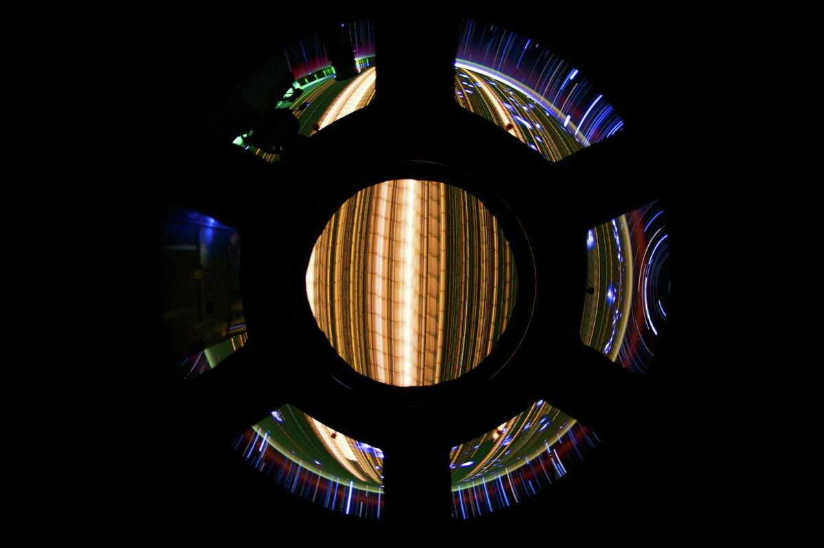 Aboard the ISS, a NASA engineer's experiments with photography have resulted in some spectacular and fascinating imagery. Expedition 31 Flight Engineer Don Pettit relayed some information about photographic techniques used to achieve the images: