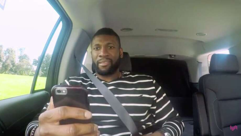 Festus Ezeli silently panics while reading apologetic texts from his teammates who pretended he was cut from the team.