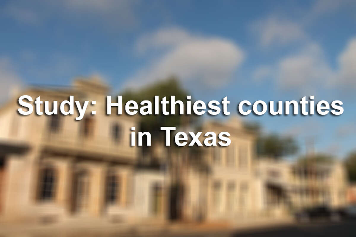 Click through the slideshow to see a collection of the Top 10 healthiest Texas counties, according to County Health Rankings.