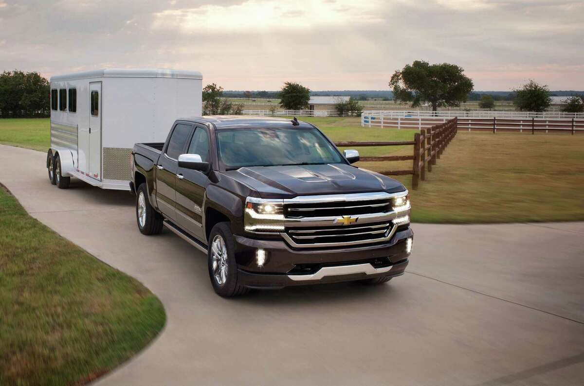 The 2016 Silverado High Country with 6.2-liter V8 can tow up to 9,300 lbs. If you need more oomph or cushion, there's an extra-cost max towing package that ups that capability to six tons.