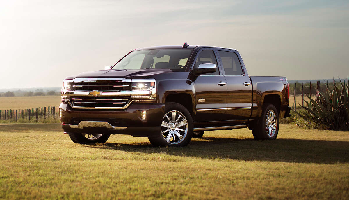 The Silverado High Country's mid-cycle refresh included nose-to-tail LED lighting.