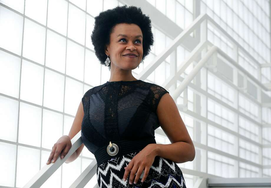 Singer-songwriter Meklit visits the Yerba Buena Center for the Arts in San Francisco. Photo: Paul Chinn, The Chronicle