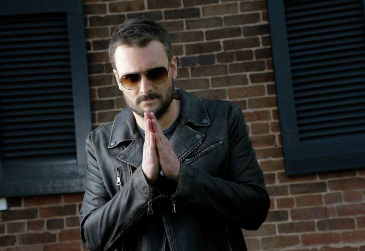 In this March 23, 2016, photo, country music star Eric Church poses in Franklin, Tenn. (AP Photo/Mark Humphrey)
