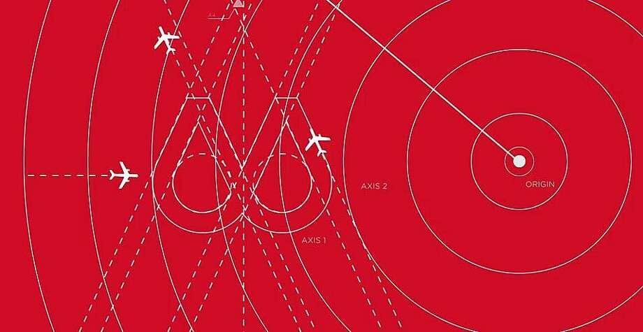 "This rendering of Virgin America's ""new"" corporate logo pokes April Fools' fun at Airbnb. Photo: Virgin America"
