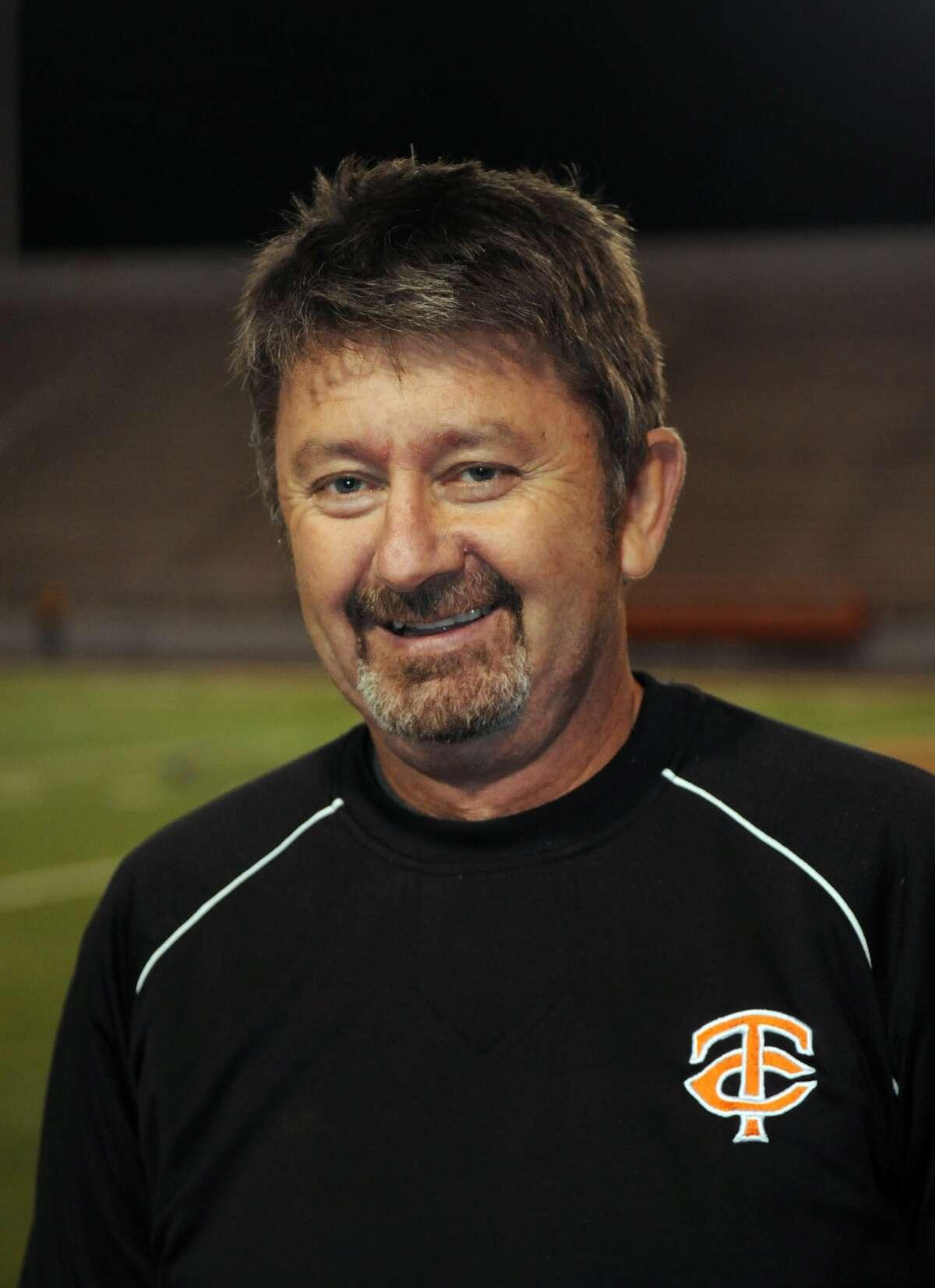 Txas City Head Girls Soccer coach Steve Allan