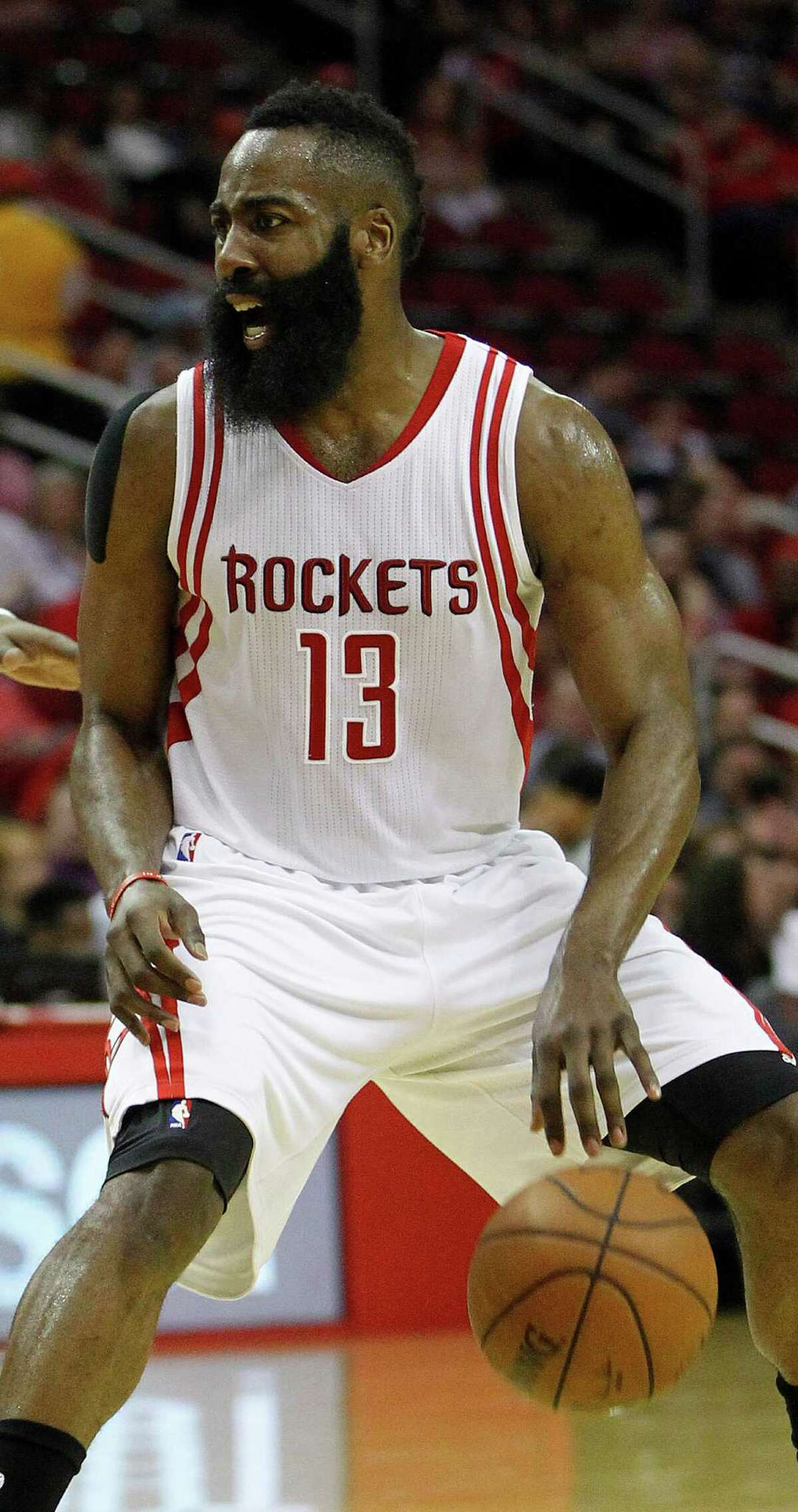 For the fourth consecutive game Thursday, James Harden played the entire second half for the Rockets.