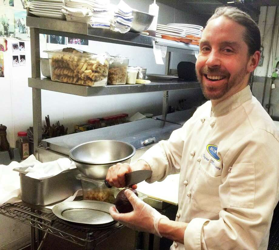 Bryan Malcarney, the chef/owner of Blue Lemon restaurant, will close the downtown dining spot in April. Photo: Chris Marquette /Hearst Connecticut Media / Westport News