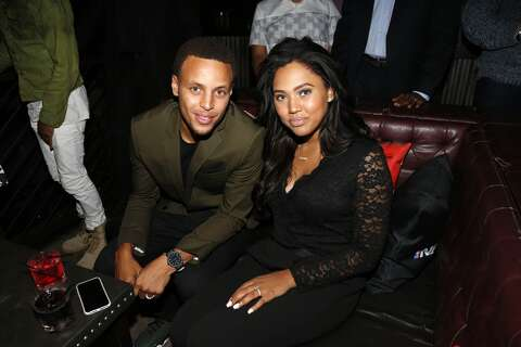 589094e75ee Stephen Curry and Ayesha Curry attend the NBA 2K16 Premiere at Marquee on  September 21