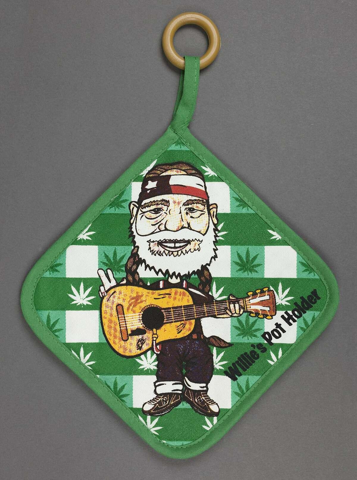 Willie Nelson tour merch pot holder