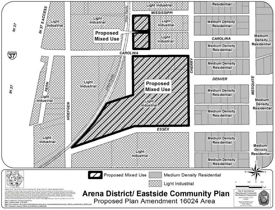 Local developer Efraim Varga has partnered with a California real estate firm to buy land for a mixed-use project in Denver Heights, creating concern among neighborhood residents who say they know little about the project. Photo: Courtesy Of The City Of San Antonio /