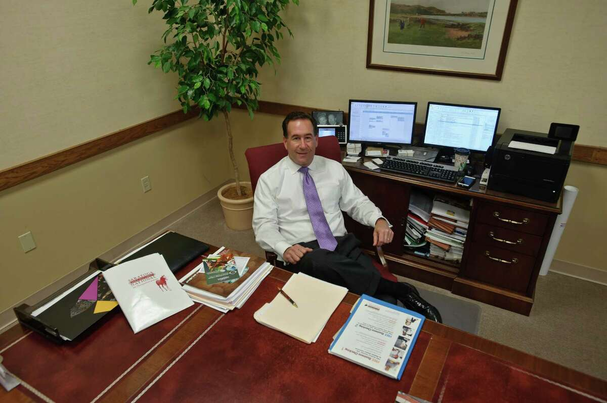 Dave DeMarco, CEO of Saratoga National Bank.