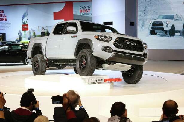 Toyota's midsize Tacoma pickup truck has seen sales decline in the first quarter of 2017, the worst start to a year since at least 2014.