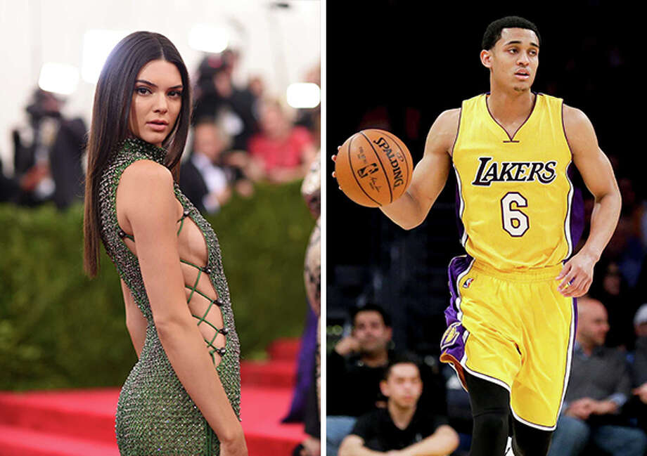 663ed57fb93 Kendall Jenner and Los Angeles Laker Jordan Clarkson, a San Antonio native,  are rumored
