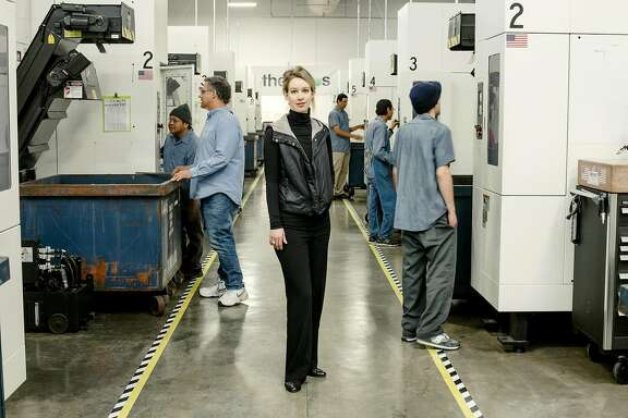 FILE � Elizabeth Holmes, the founder of the medical start-up Theranos, at the company�s lab in Newark, Calif., Dec. 4, 2015. Medical testing done by the closely watched start-up Theranos was plagued by quality control problems that could have led to inaccurate results for patients, according to an inspection report released by federal regulators on March 31, 2016. (Carlos Chavarria/The New York Times)