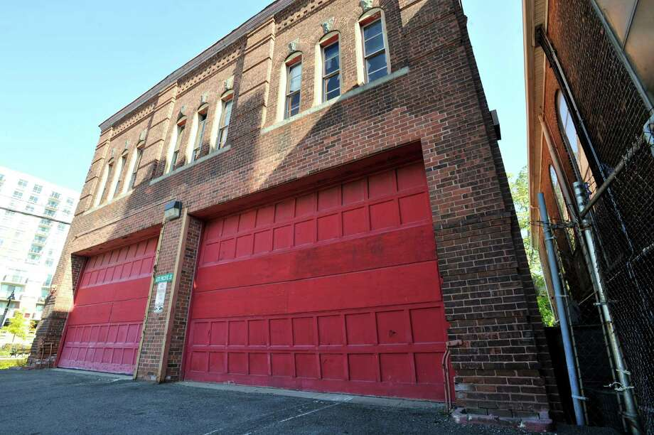 670 Pacific Street is a condemned South End firehouse built in 1900. Photo: Michael Cummo / Hearst Connecticut Media / Stamford Advocate