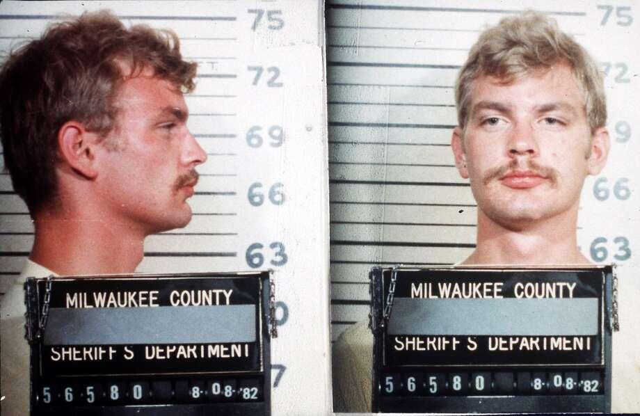 Serial killer Jeffrey Dahmer is seen in a 1982 Milwaukee county sheriff's department mugshot. (AP Photo/Handout) Photo: Associated Press, ASSOCIATED PRESS