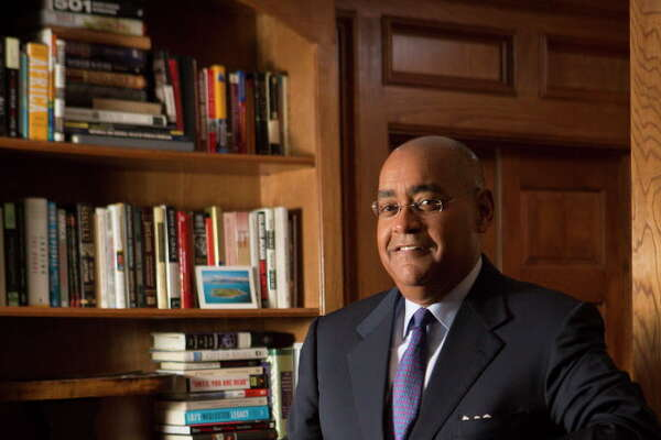 Senator Rodney Ellis is the state senator for Texas' 13th state senate district. Senator Ellis stands in his home office for a portrait, Friday, March 25, 2016, in Houston.