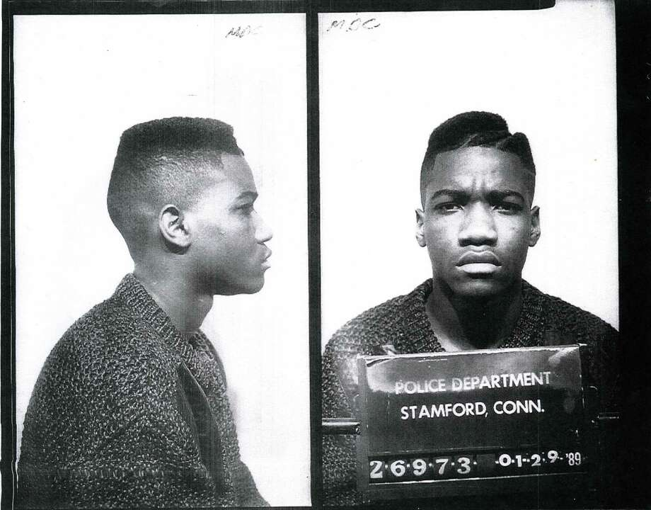 Christopher Williams in his 1989 arrest photo in Stamford, Conn. After he was convicted of manslaughter, Williams, who is now 44, spent 26 years on the run before being apprehended in Philadelphia last month. Photo: Contributed / Contributed Photo / Stamford Advocate  contributed