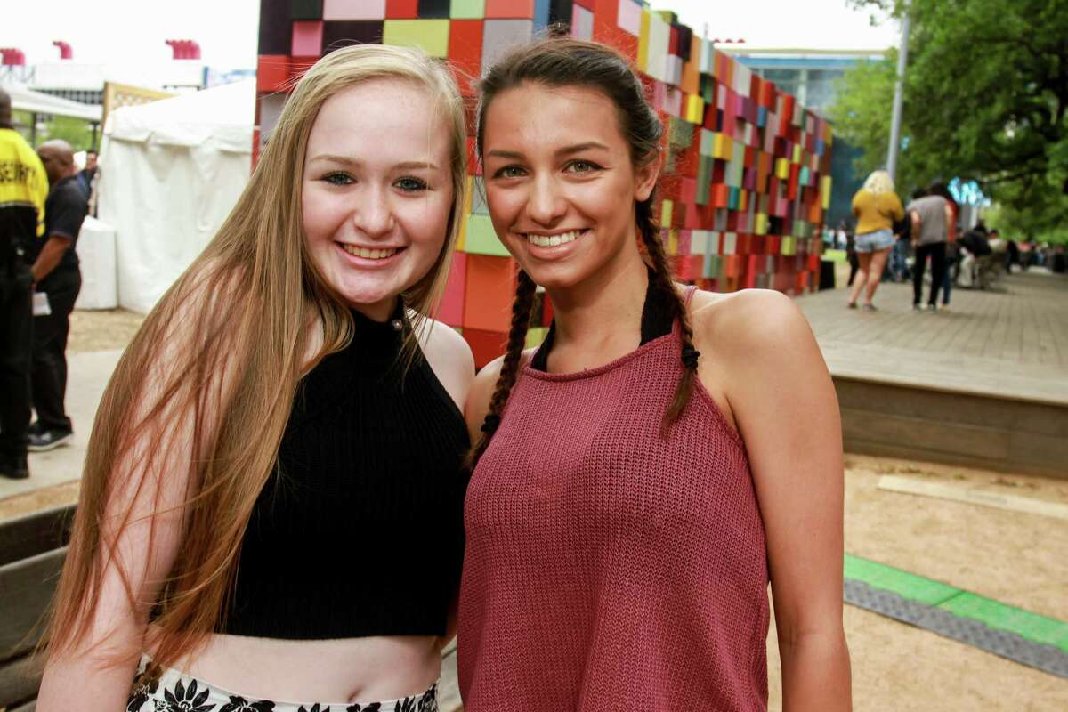 Fans come ready to party on Friday as the three-day, free March Madness Music Festival begins at Discovery Green.
