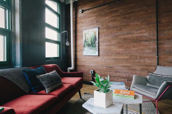 Susan Matus, director of project development at Case Design/Remodeling in Bethesda, says Stikwood, which looks like planks of wood, could be used on one wall as a focal point or in a mudroom or laundry room.
