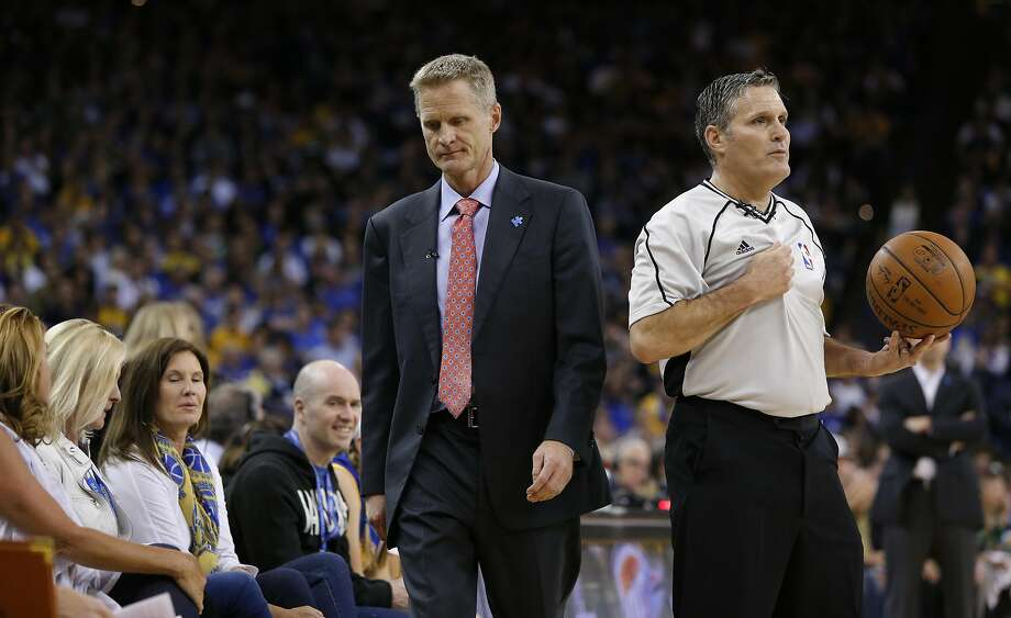 "A day after Friday's loss, ""the sun came up,"" Warriors head coach Steve Kerr joked. ""Unbelievable. I didn't know if it would."" Photo: Michael Macor, The Chronicle"